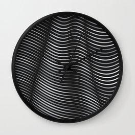 Flexible Lines 05 Wall Clock