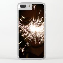 Baby, you're a firework! Clear iPhone Case