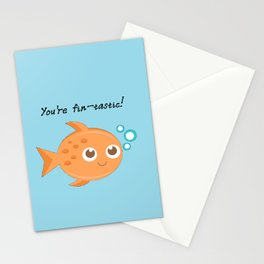 You're fintastic! Stationery Cards
