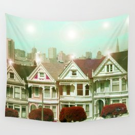 Painted Ladies - remix Wall Tapestry