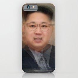 Kim Jong-Un Portrait iPhone Case