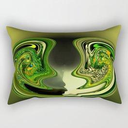 Leery of Rectangular Pillow