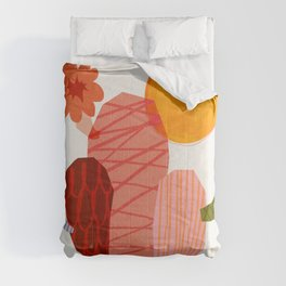 Abstraction_Cactus_&_Sun Comforters