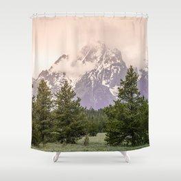 Grand Teton National Park - Wanderlust Adventure Shower Curtain