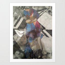 quiddle Art Print