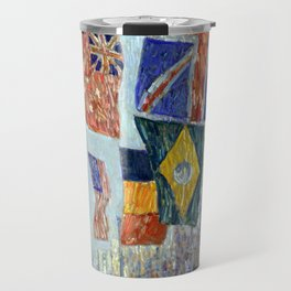 Childe Hassam Avenue of the Allies, Great Britain Travel Mug