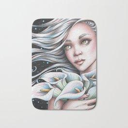 Calla Lily Fairy Bath Mat