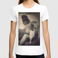 woman T-shirts featuring Woman by Victoria Herrera