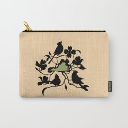 Virginia - State Papercut Print Carry-All Pouch