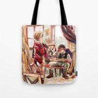 les mis Tote Bags featuring les miserábles: atelier visit by Daniela Viçoso