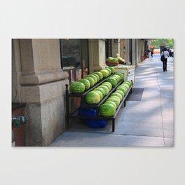 New York City Market 2009 Canvas Print