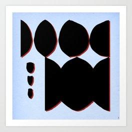 - while - Art Print