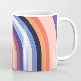 70s Stripes Rainbow 2 Coffee Mug