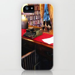 Pearl S Buck Library iPhone Case