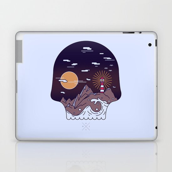 Skull Pier Laptop & iPad Skin