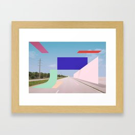 Constructed S7 Framed Art Print