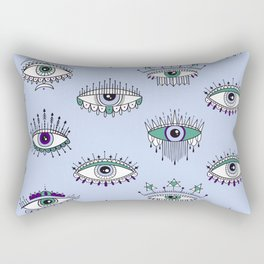 evil eye pattern Rectangular Pillow