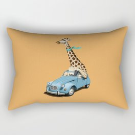 Riding High! (Colour) Rectangular Pillow