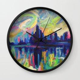 Magical Midnight  Wall Clock