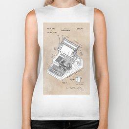 patent art Yutang Chinese typewriter 1952 Biker Tank