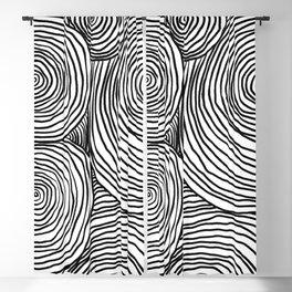 Modern line art illustration  Blackout Curtain