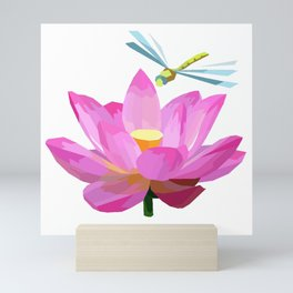 Water lilies Mini Art Print
