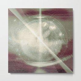 Explore the Light Metal Print