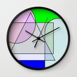 Colorandform mixery 5 Wall Clock
