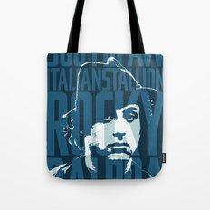Rocky Balboa Minimal Vector Film Poster Tote Bag