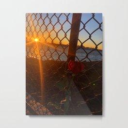 February Sunset at Bug Light (5) Metal Print