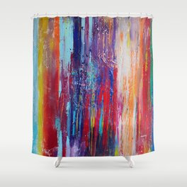 All That We Love by Nadia J Art Shower Curtain