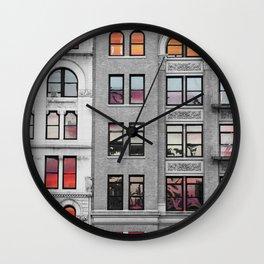 sunny reflections Wall Clock