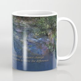 Serenity Prayer Blue Creek Coffee Mug