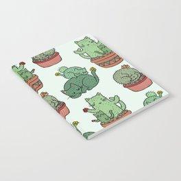 Cacti Cat pattern Notebook