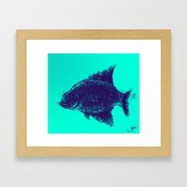 Fishing Time Framed Art Print