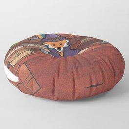 James the Wizard Fox Floor Pillow