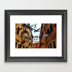 This mess we are in Framed Art Print