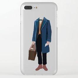 Newt Scamander Clear iPhone Case