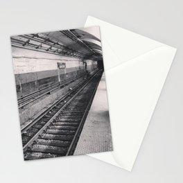 subway (black & white) Stationery Cards