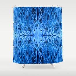 Frozen Squid by Chris Sparks Shower Curtain