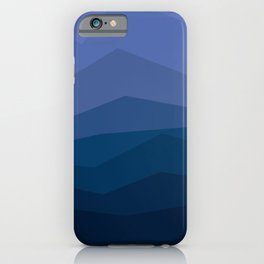 Waves of Blue iPhone Case