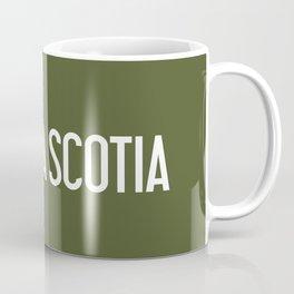 Nova Scotia Moose Coffee Mug