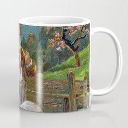 Easter Greetings 1908 Coffee Mug