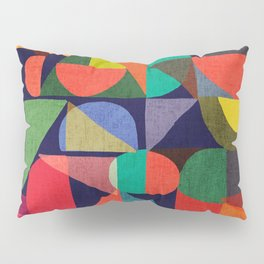 Color Blocks Pillow Sham