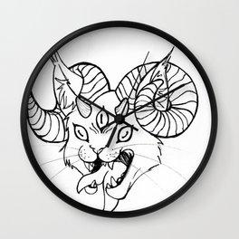 Demon Cat Wall Clock