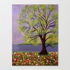 Summer landscape-2 Canvas Print