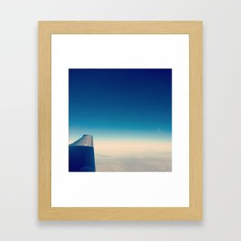 Flyby Framed Art Print