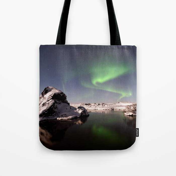 Iceland in Winter Tote Bag