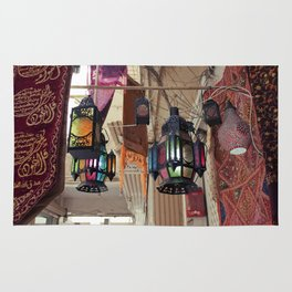 Arabian Lanterns  Rug