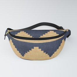 Lash in Blue and Gold Fanny Pack